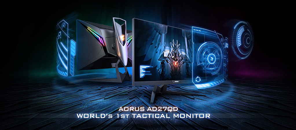 The story behind GIGABYTE AORUS' development of the AD27QD