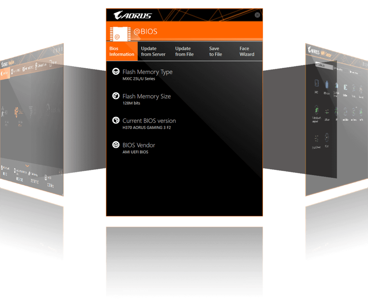 Z390 I Aorus Pro Wifi Fans Electronic Product Design From A File On Your Computer Bios Also Allows You To Save Current Recover Previous An Image And Backup