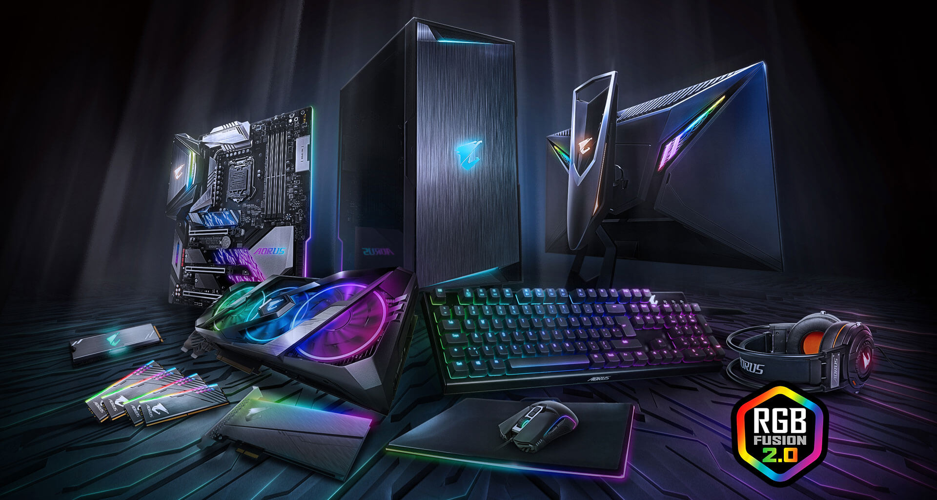 Z390 Aorus Pro Wifi Led Wiring Diagram Multiple Drivers Rgb Fusion 20 Is The Software That Brings It All Together Letting Your Accessories Synchronize To Same Beat Customize Leds How You