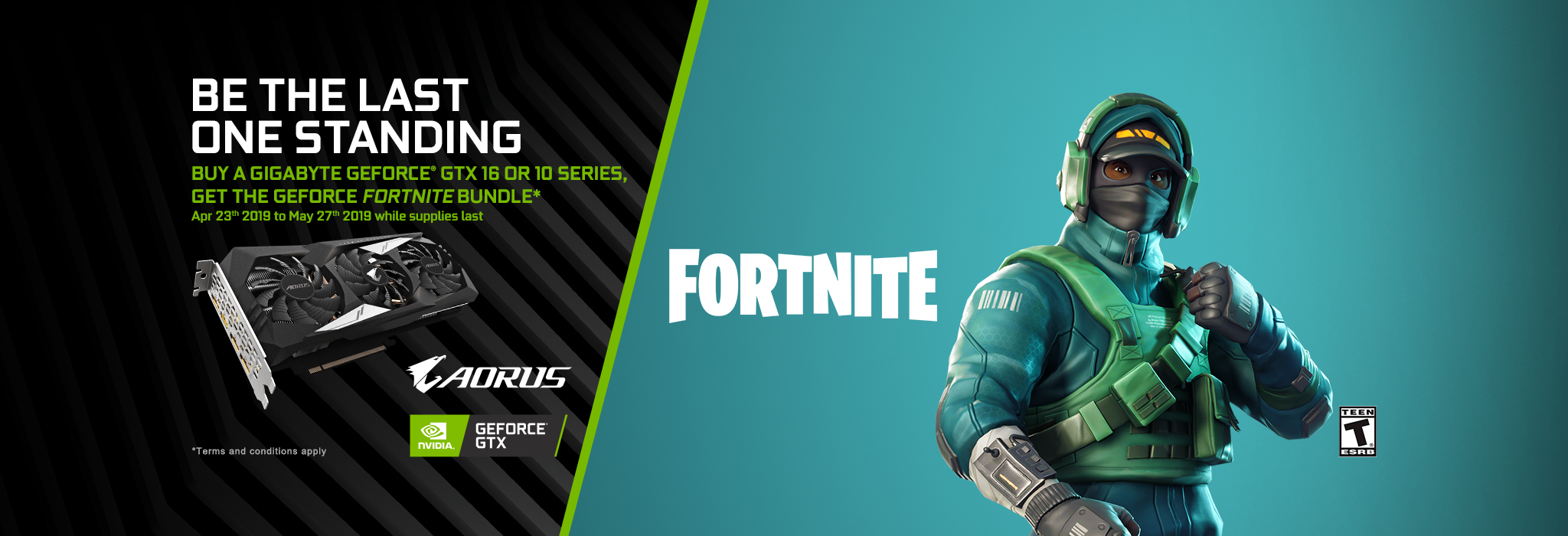 buy a qualified gigabyte gtx and get fortnite bundle apac - code cadeau fortnite