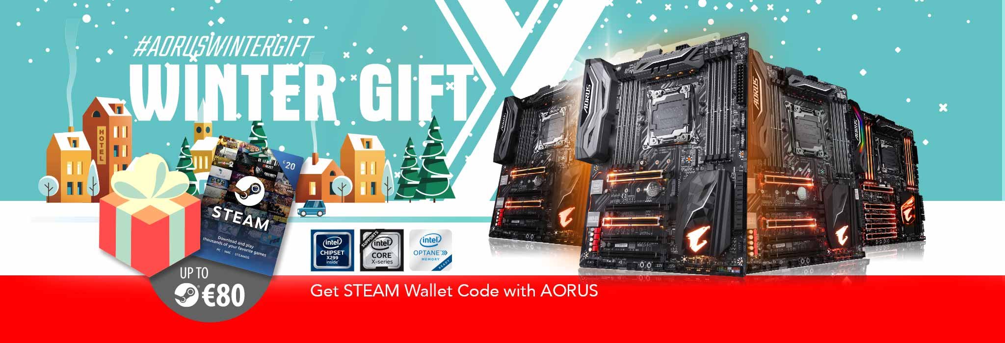 Buy the latest GIGABYTE AORUS X299 motherboards get up to