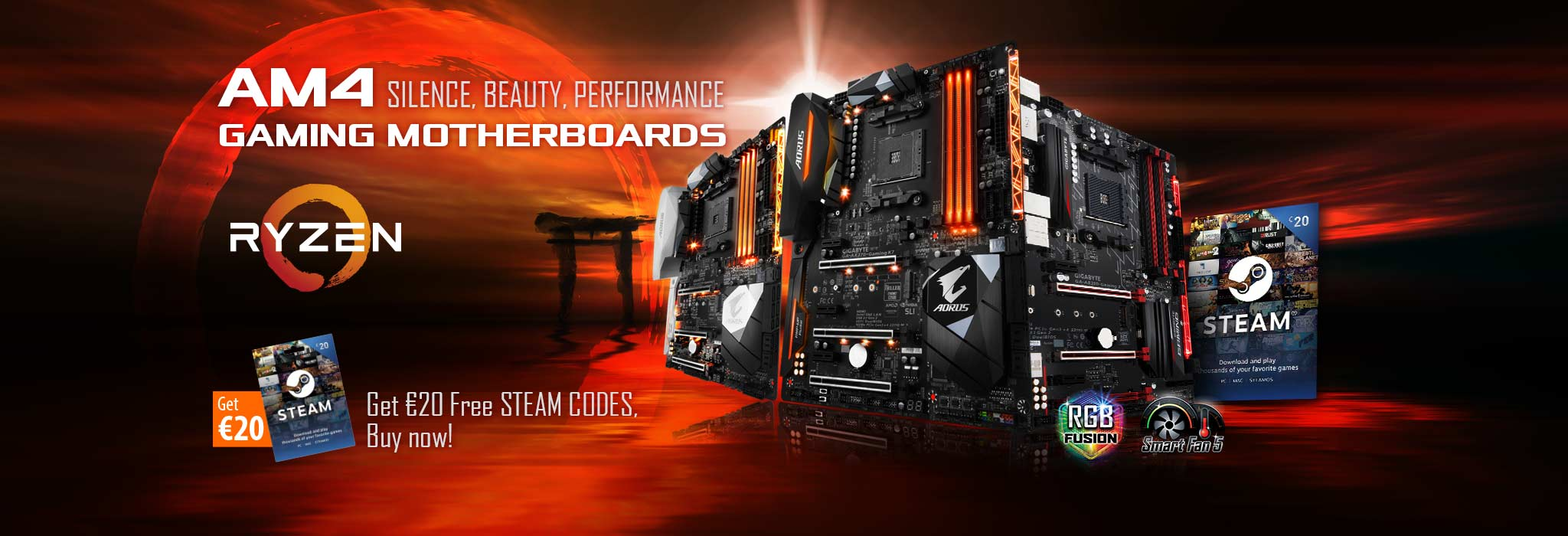 Am4 Gaming Motherboards Steam Code Bundle Aorus Wallet 20 Starting From The 11th Of April 2017 Gigabyte Will For Free Gift You With Codes When Buy Select