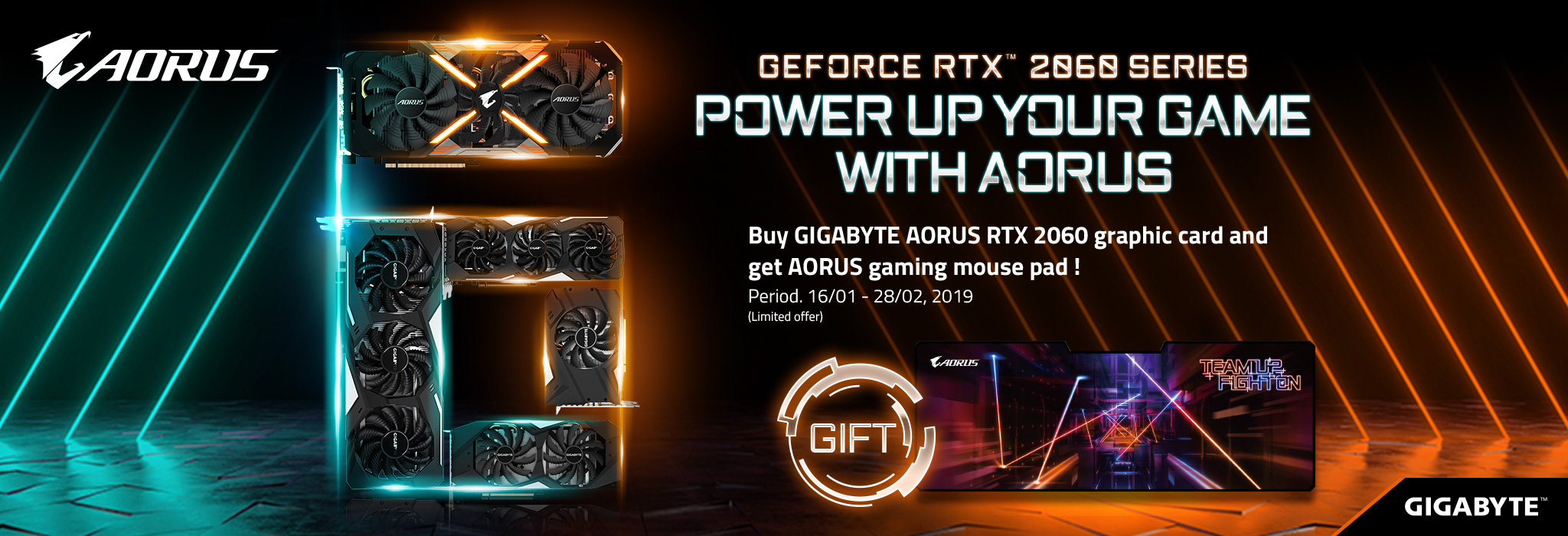 POWER UP YOUR GAME WITH AORUS RTX2060_Singapore   AORUS