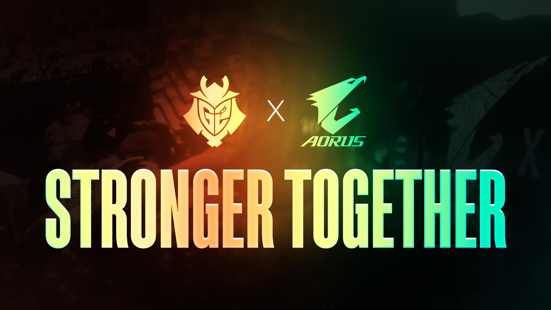Gigabyte aorus and g2 esports renew partnership