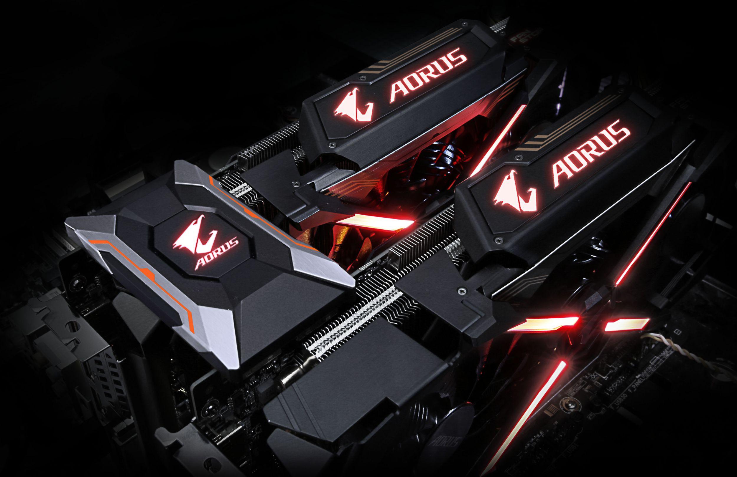 Full AORUS graphics card lineup unveiled | AORUS