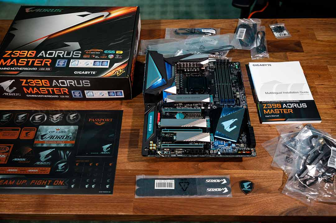 AORUS Z390 Motherboards: Game at 5GHz+ | AORUS