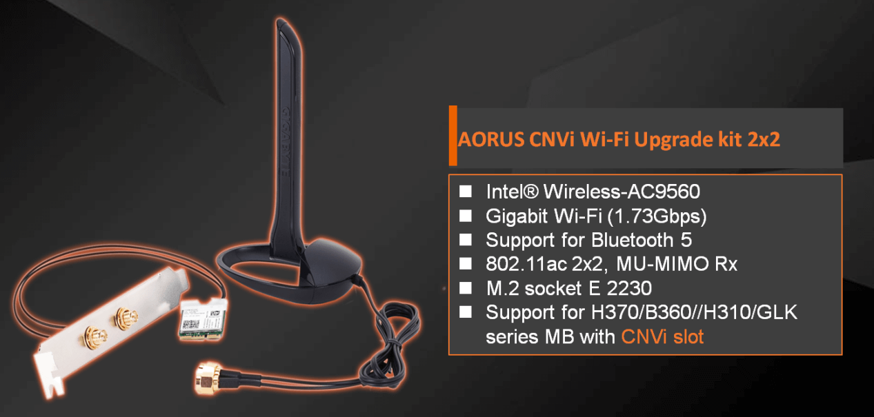 AORUS CNVi WIFI Upgrade Kit With Additional Features