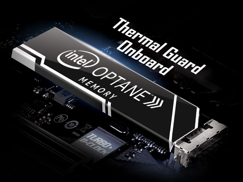 Optane Memory With Thermal Guard Onboard