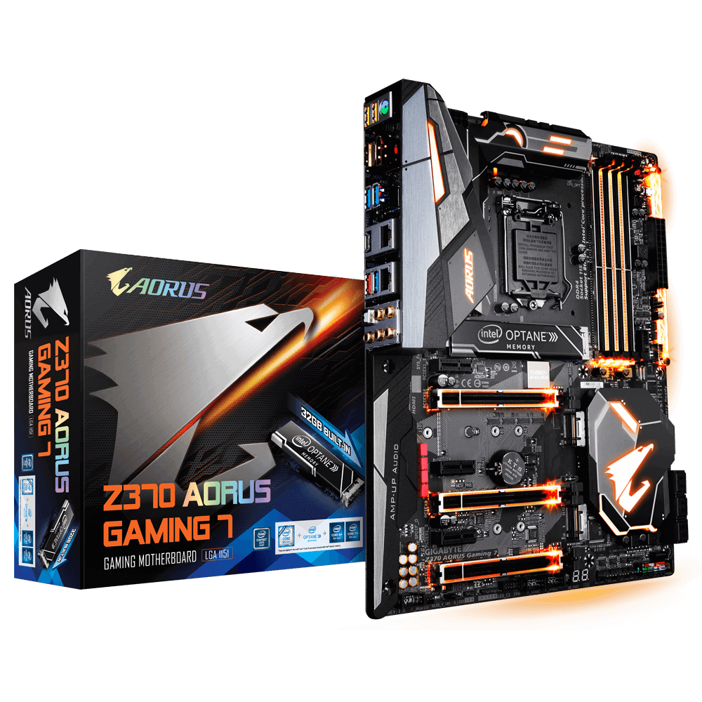 Z370 Aorus Gaming 7-OP Motherboard With Box