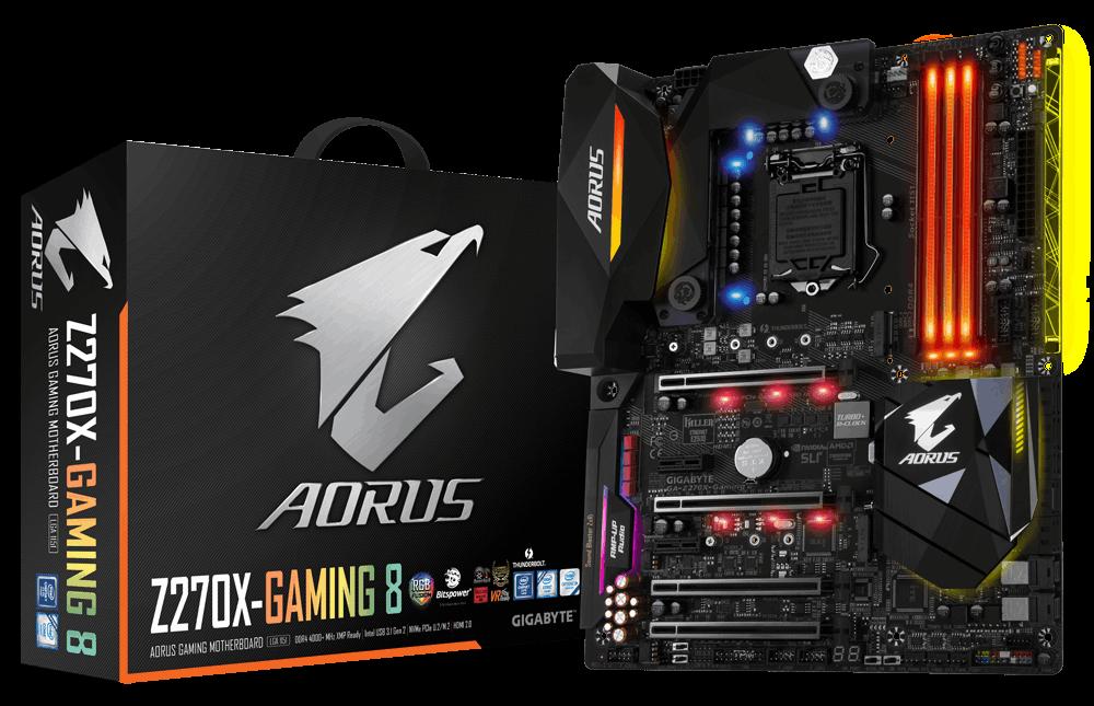 GA-Z270X-Gaming 8 | AORUS