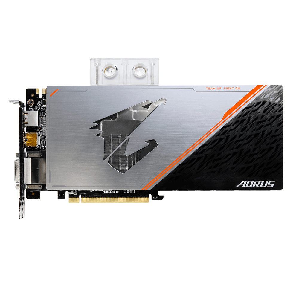 AORUS GeForce® GTX 1080 Ti Waterforce WB Xtreme Edition 11G | AORUS