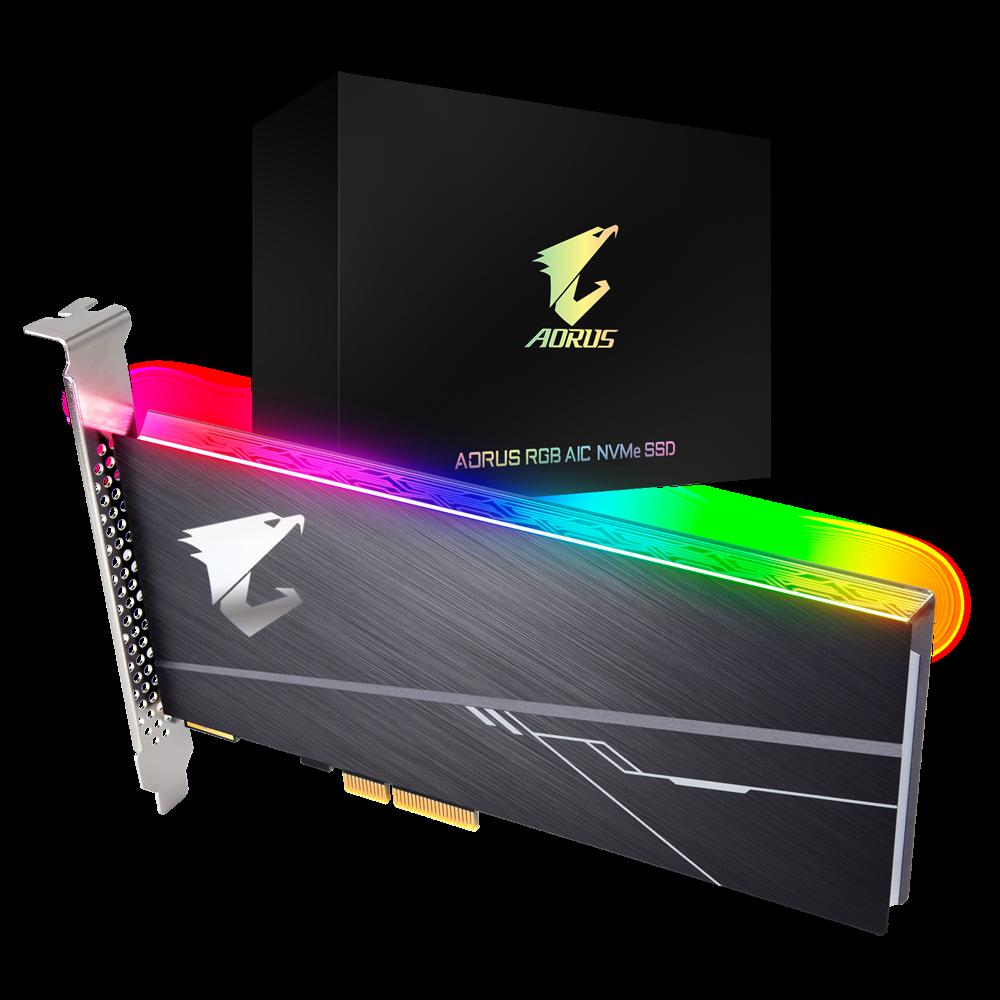 AORUS RGB AIC NVMe SSD 512GB | AORUS
