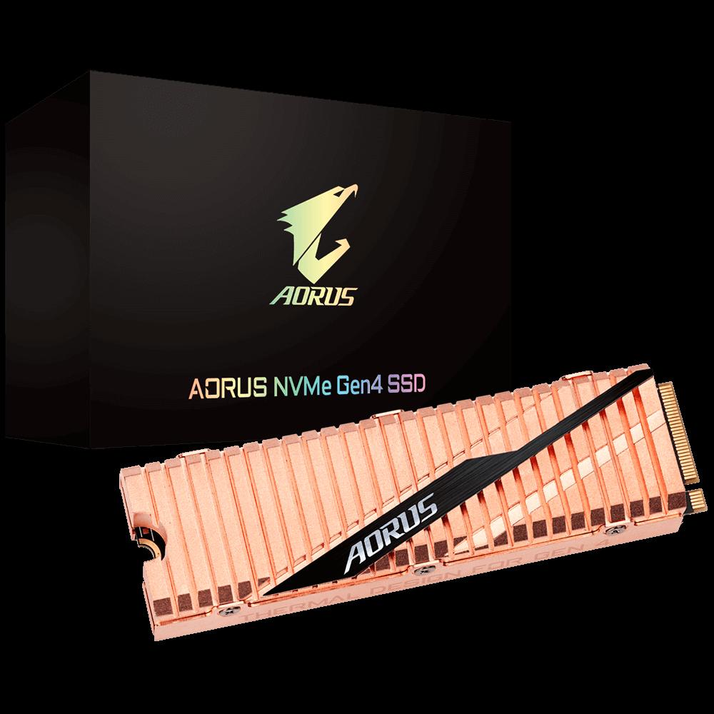 Resultado de imagen para GIGABYTE DISCO AORUS NVME GEN4 SSD 500GB