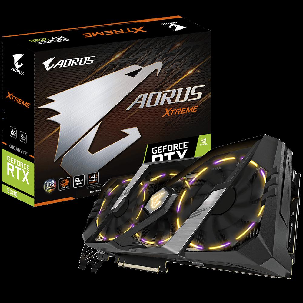 AORUS GeForce RTX™ 2080 XTREME 8G | AORUS