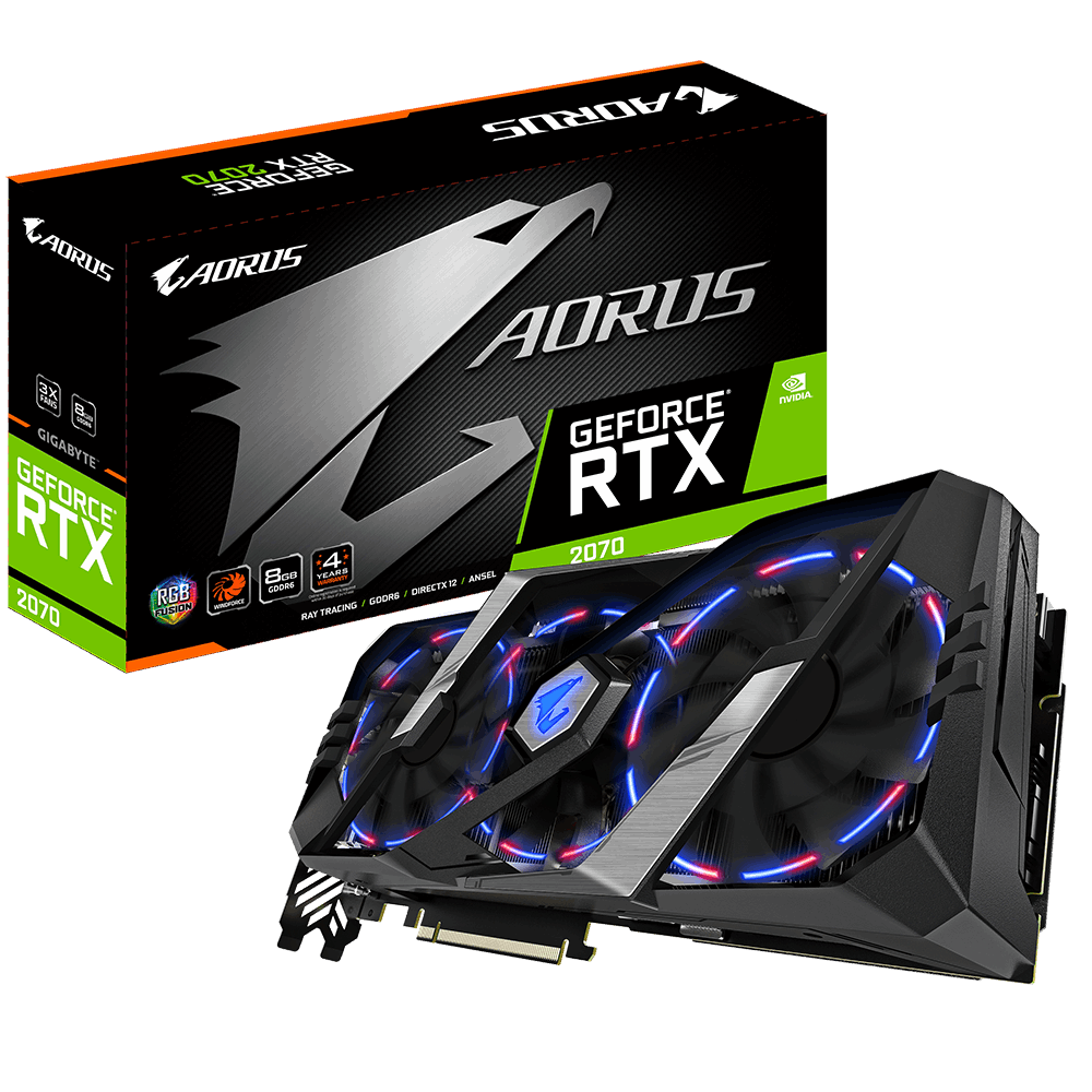 AORUS GeForce RTX™ 2070 8G | AORUS