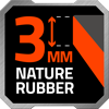 3mm rubber icon
