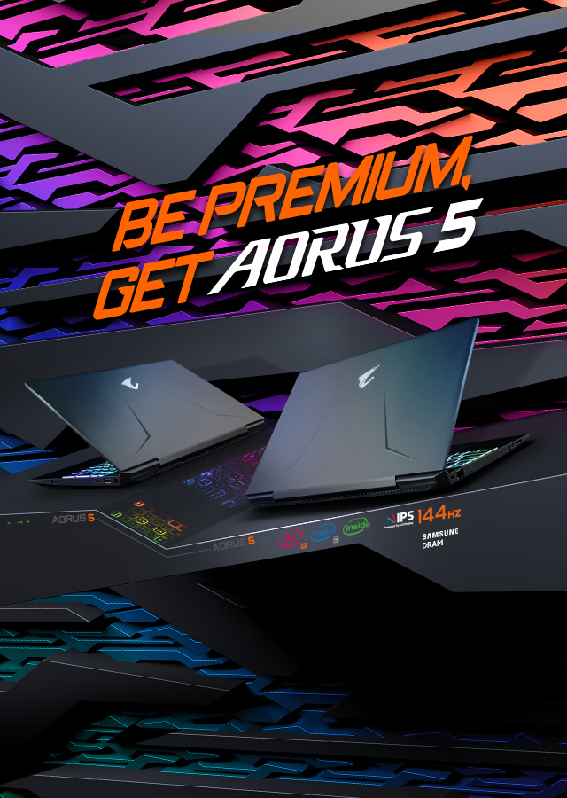 Be Premium, Get AORUS All-Star Components Inside