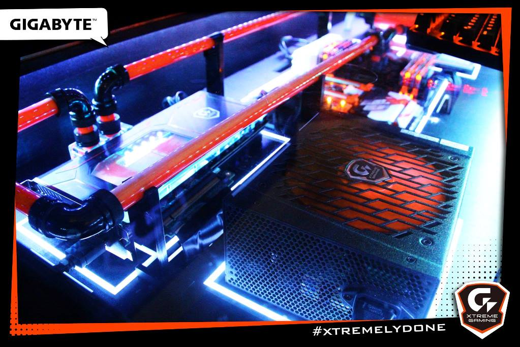 desk custom gaming aorus pc mod detail blog f