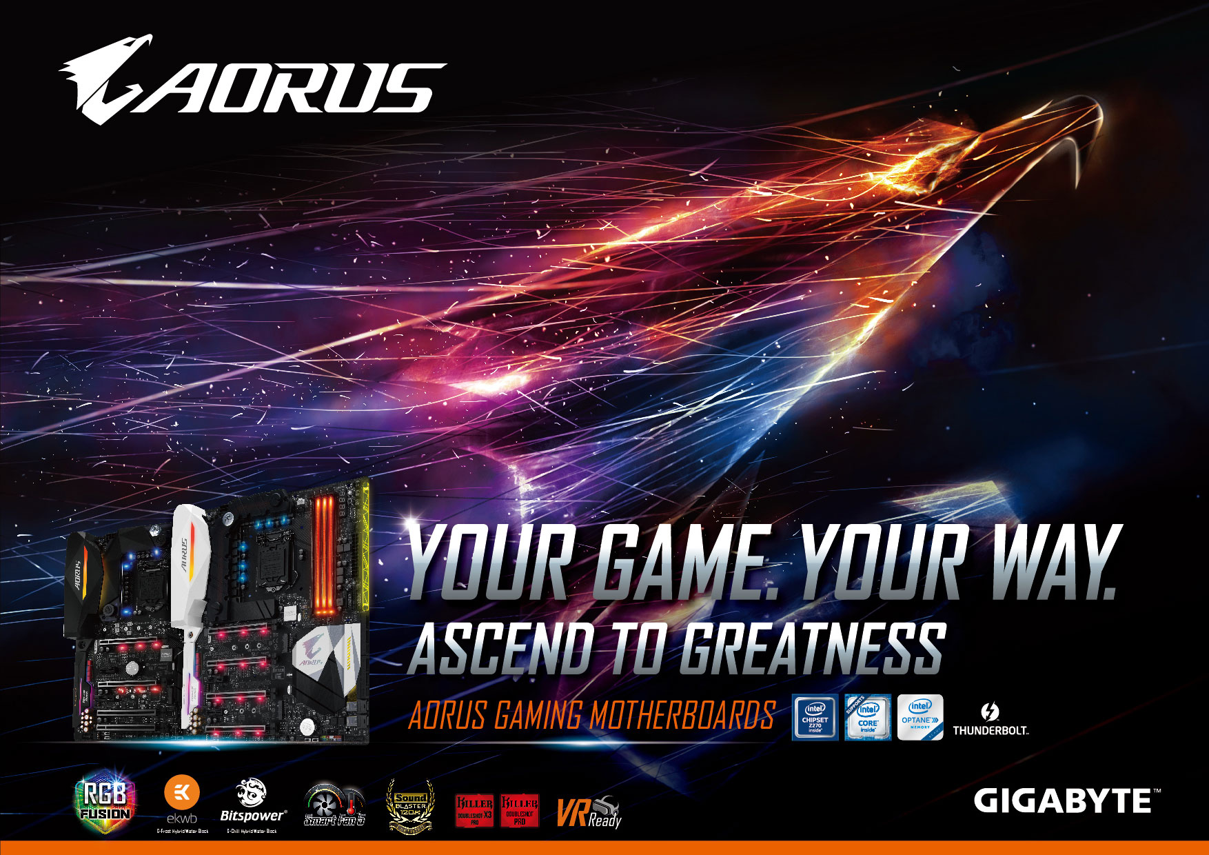New AORUS Gaming Motherboards