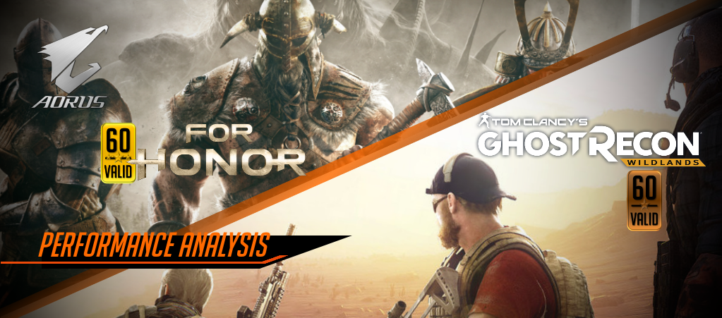 [AORUS Lab] For Honor & Ghost Recon Wildlands
