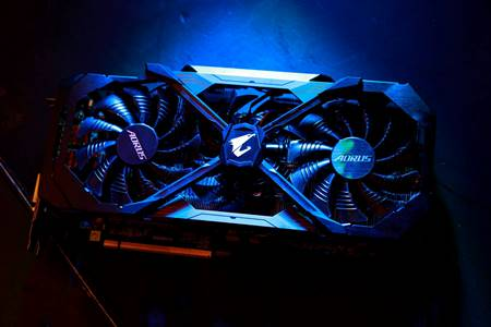 Two Liquid Cooled AORUS GeForce® GTX 1080 Ti Graphics Cards