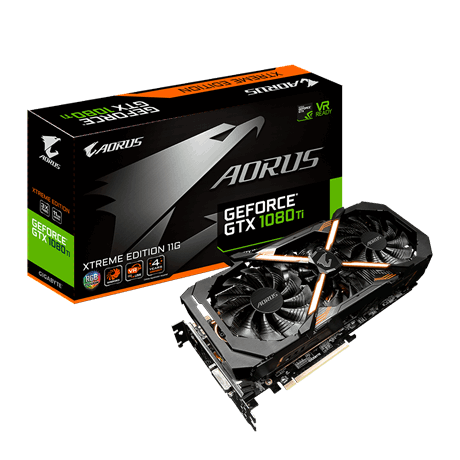 AORUS GeForce® GTX 1080 Ti Xtreme Edition 11G
