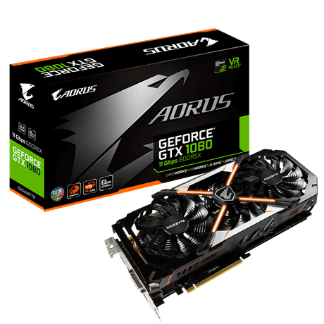 AORUS GeForce® GTX 1080 8G 11Gbps
