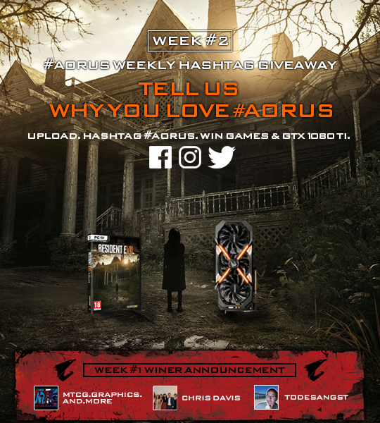 Weekly Hashtag & Win -  Will the Die-hard AORUS Fans Stand Up