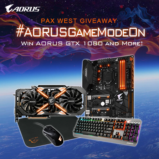 AORUS Game Mode On | PAX WEST 2017
