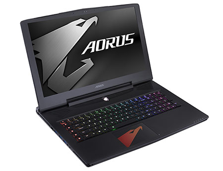 for fans who favour the larger screen, there's now a seventh-generation Aorus X7 v7