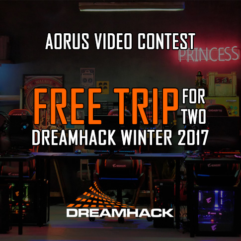 AORUS VIDEO CONTEST - YOUR GAME. YOUR STORY.