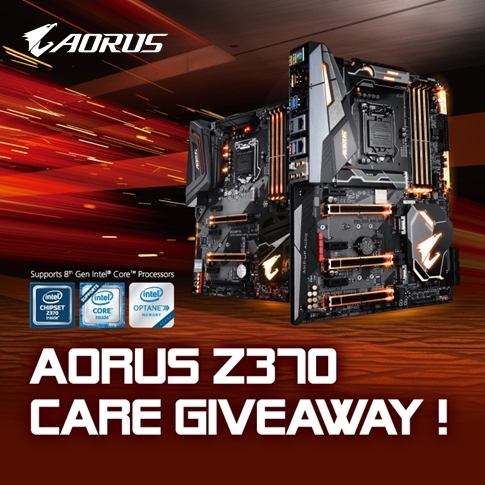 AORUS Z370 Care Giveaway!