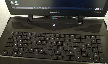The Aorus X9 offers trendy RGB keyboard with powerfully slim chassis