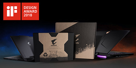 AORUS Packaging is a unanimous choice for iF Design Award 2018