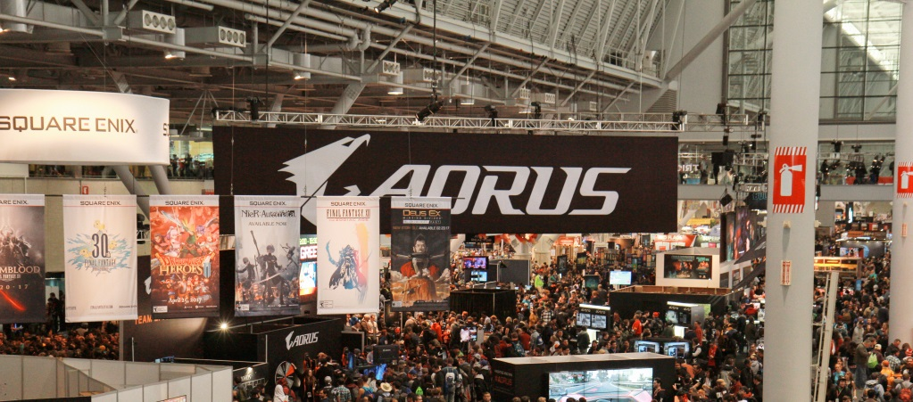 AORUS Making Return to PAX East 2018