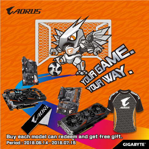 AORUS YOUR GAME YOUR WAY_Singapore