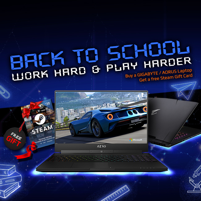 AORUS Back to School: Stay Cool with New Gaming Gear