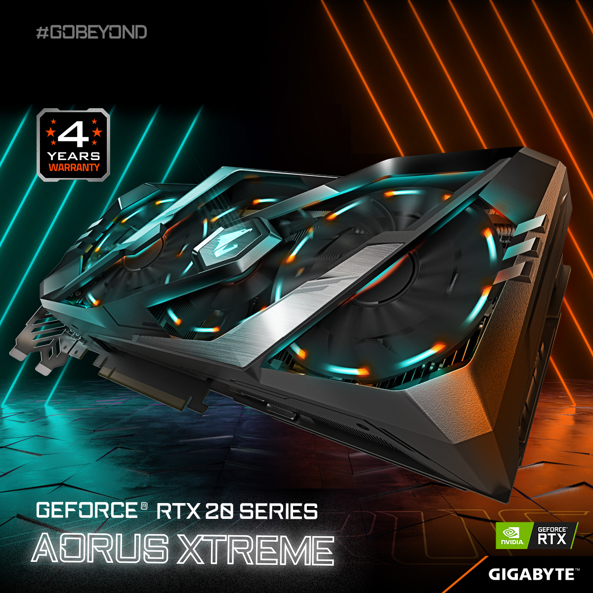 AORUS RTX 2080 Ti/ 2080 4 Year Warranty