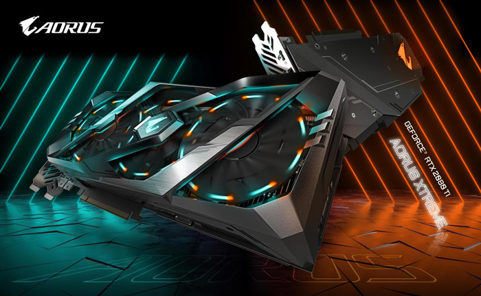 GIGABYTE Unveils AORUS GeForce® RTX 20 series graphics card