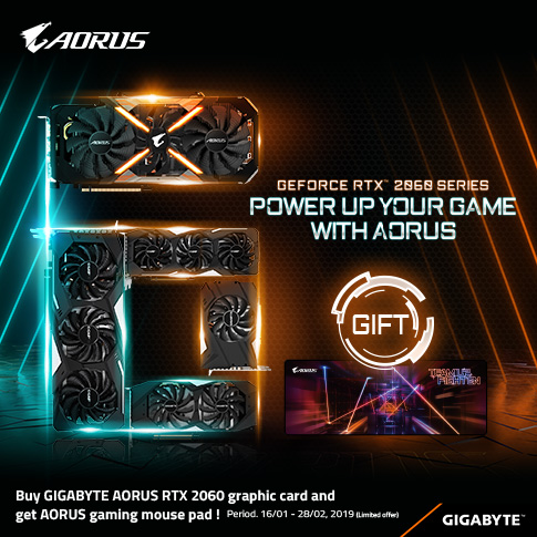 POWER UP YOUR GAME WITH AORUS RTX2060_Singapore