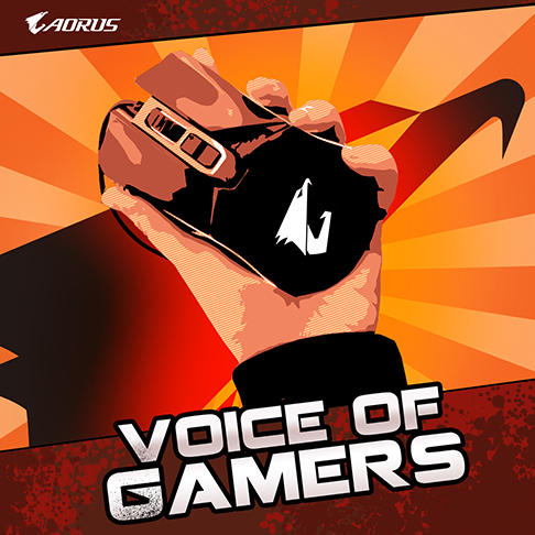 AORUS Voice of Gamers: Submit a Review & Win!