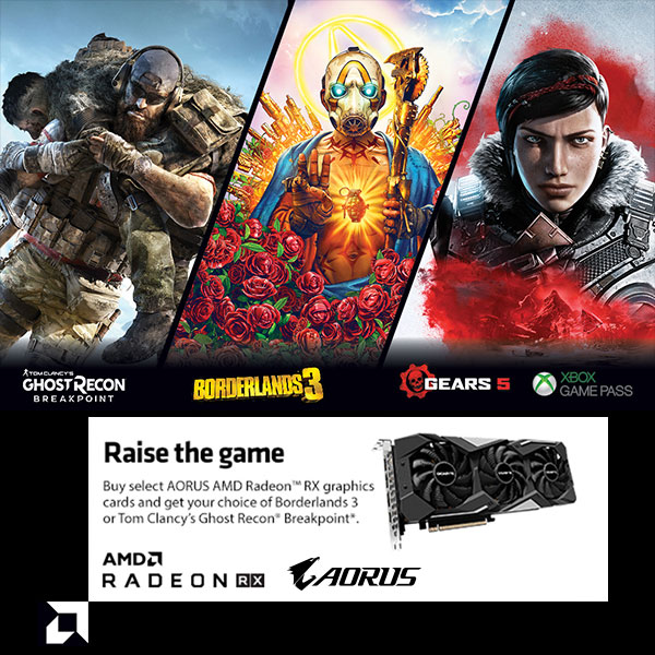 Raise the game - AMD Global Game Bundle