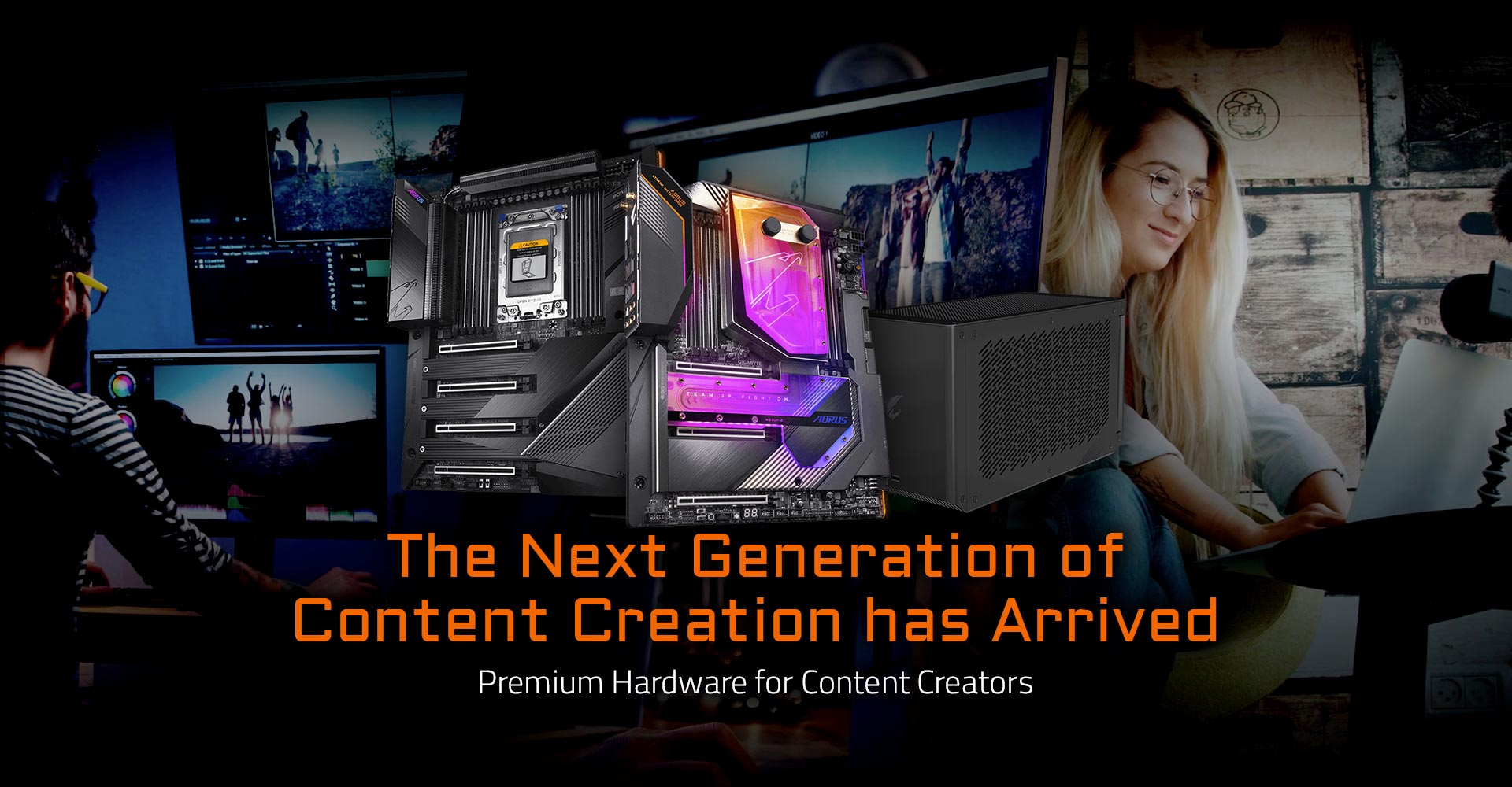 GIGABYTE Offers Top-of-the-line Hardware for Content Creators