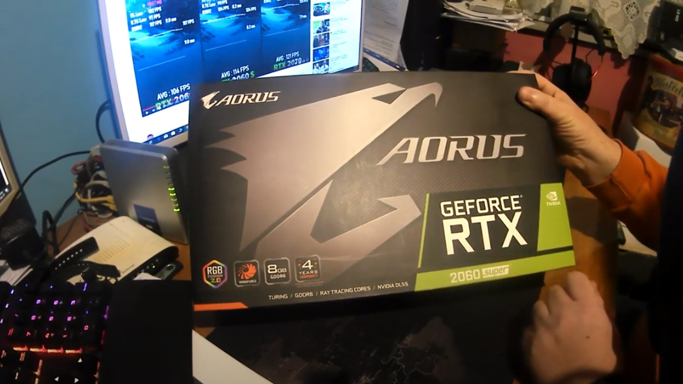 UNBOXING/REVIEW:Aorus2060super(GREEK Ver)