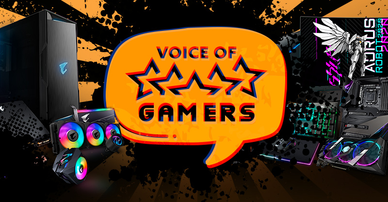 AORUS Voice of Gamers