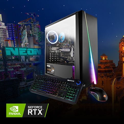 Experience Minecraft RTX with iBUYPOWER and GIGABYE GeForce RTX