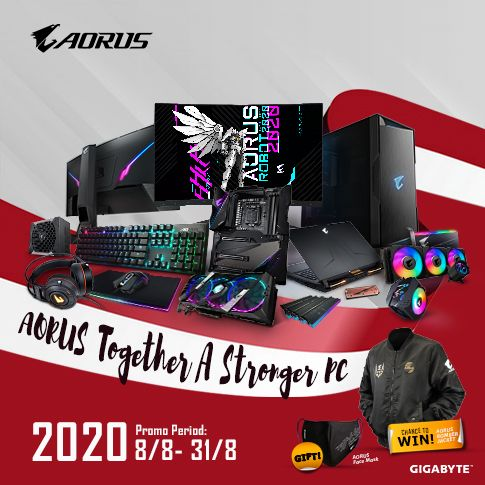 [Singapore] AORUS TOGETHER A STRONGER PC