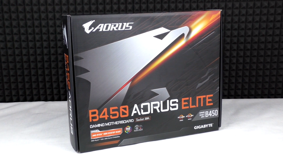 AORUS B450 Elite Excellent Motherboard for Building a Gaming PC