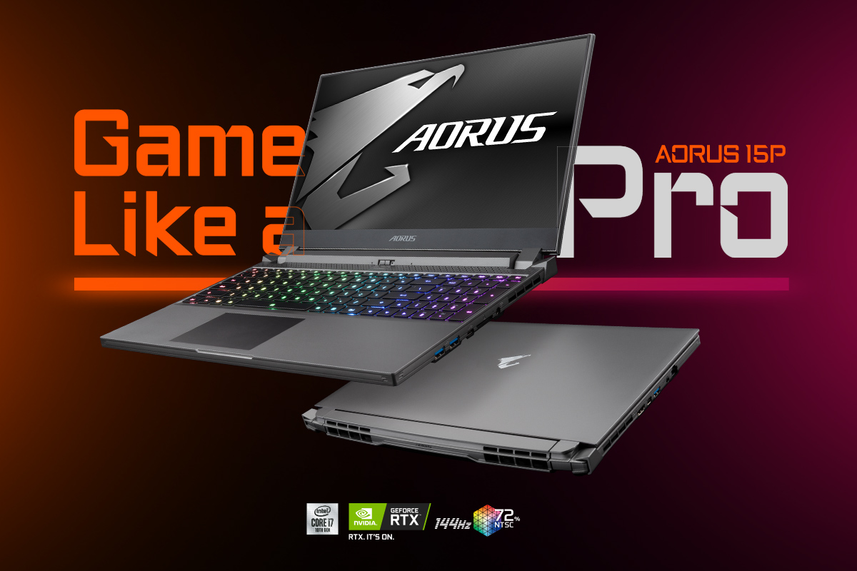 Unveiling AORUS 15P the Ultra-thin Professional Gaming Laptop